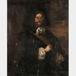 Attributed to Bartholomeus van der Helst (Dutch, 1613-1670)      Portrait of an Admiral