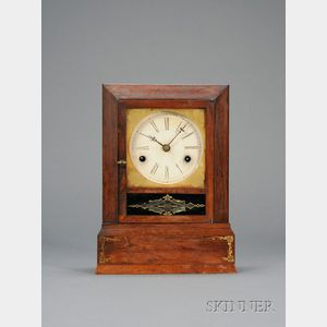 Rosewood Cottage Clock, J. J. Beals & Co.