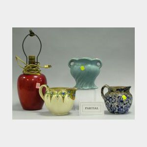 Six Pottery Items