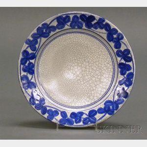 Dedham Pottery Clover Dinner Plate