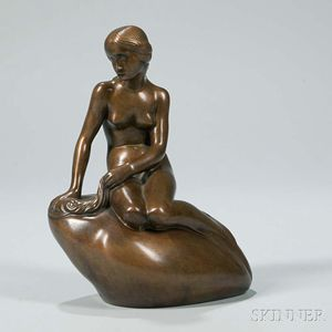 """The Little Mermaid"" Bronze, After Edvard Eriksen (Denmark, 1876-1959)"