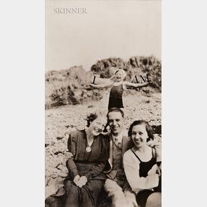 Annette Lemieux (American, b. 1957)      I Am