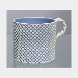 Wedgwood Solid Light Blue Jasper Custard Cup