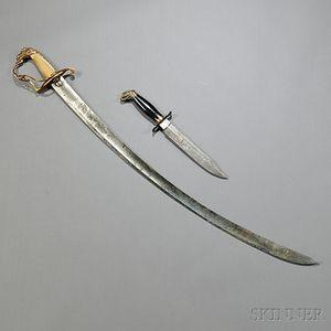 Eagle-pommel Sword and Dagger