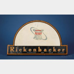 Rickenbacker Automobile Sign