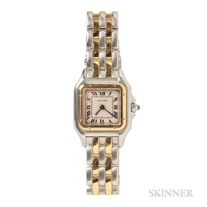 """Cartier Two-tone """"Panthere"""" 1120 Wristwatch"""