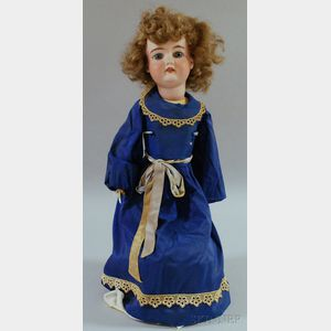 Large Armand Marseille Bisque Head Doll