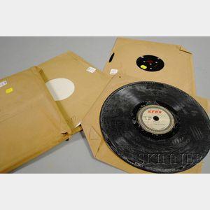 Four Assorted Duke Ellington Transcription Discs
