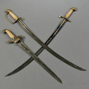 Three Eagle-pommel Swords