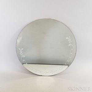 Two Circular Mirrors