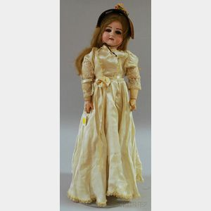 "Armand Marseille ""Floradora"" Bisque Head Doll"