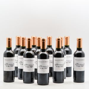 Chateau Rauzan Segla 2008, 12 demi bottles (oc)