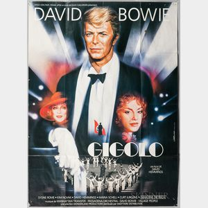 David Bowie's Just a Gigolo   Poster