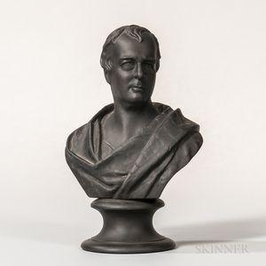 Wedgwood Black Basalt Bust of Scott
