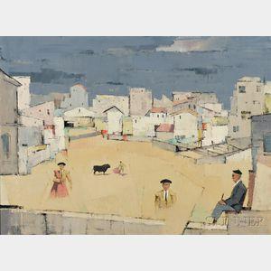 Paul Sample (American, 1896-1974)    Memories of an Old Man