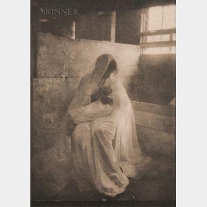 Gertrude Käsebier (American, 1852-1934)      The Manger