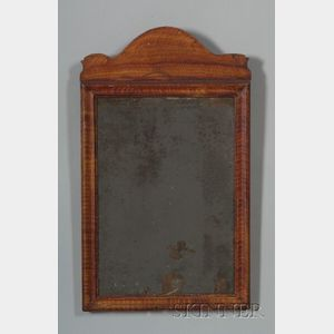 Queen Anne Paint Decorated Mirror