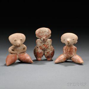 Three Chinesco Female Figures