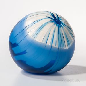 Shinji Yonehara Sky Line   Art Glass Sculpture