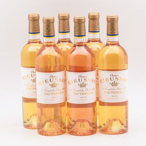 Chateau Rieussec 2010, 6 bottles