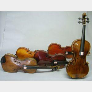 Five Childs Violins.