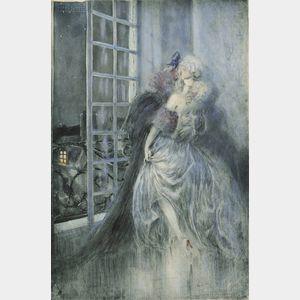 Louis Icart (French, 1888-1950)      Des Grieux