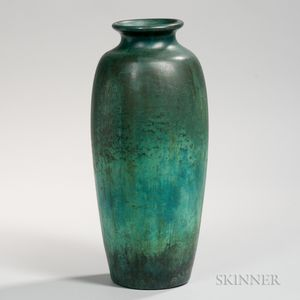 Tall Clewell Pottery Vase
