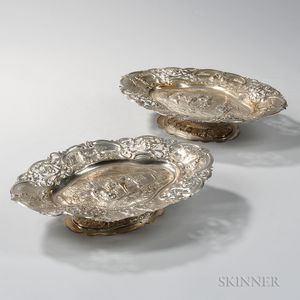 Two George III Sterling Silver Tazzas