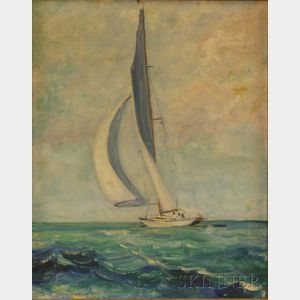 Janet Stockton Taylor (American, 1911-2000)      June Breeze