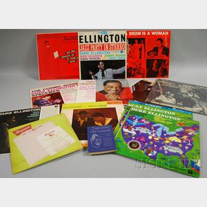 Wax Works of Duke Ellington   and Twelve Duke Ellington LP Records