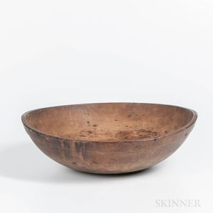 Large Turned Bowl
