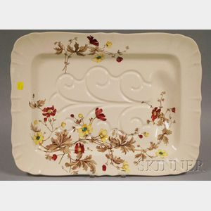 Large Mintons Well and Tree Ceramic Platter