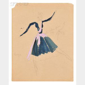 Eve Swinstead-Smith (British, 20th Century)      Costume Designs for Enigma Variations