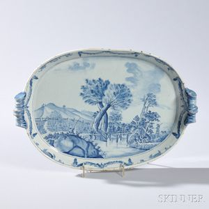 Tin-glazed Earthenware Delft Serving Tray