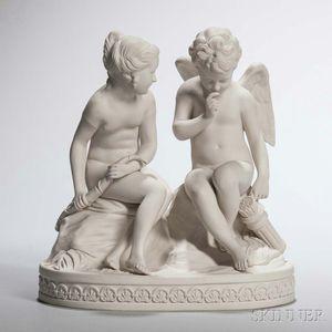 Wedgwood Carrara Cupid and Psyche Group