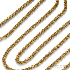 18kt Gold Longchain