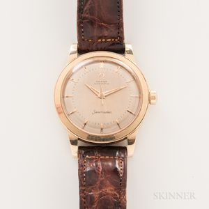 Omega 14kt Gold Seamaster Automatic Wristwatch