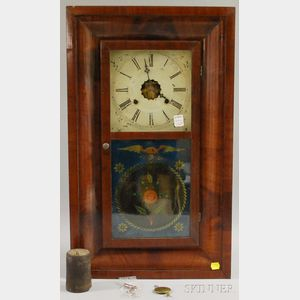 Seth Thomas Mahogany Ogee Shelf Clock