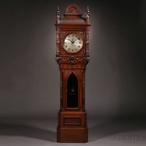 Sold for: $168,000 - E. Howard & Company No. 80 Renaissance Revival Tall Clock