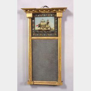 Diminutive Federal Gilt-gesso Mirror