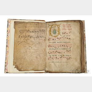 Antiphonary, France, 15th Century.
