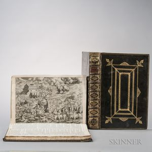 The Book of Common Prayer; The Holy Bible, Containing the Old Testament and the New  , Extra-illustrated.