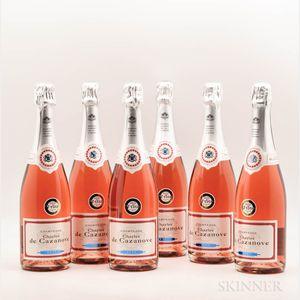 Charles de Cazanove Rose Champagne NV, 6 bottles