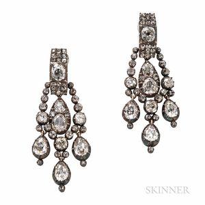 Antique Diamond Earrings