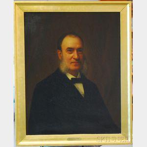 Carnig Eksergian (Armenian/American, 1855-1931)      Portrait of a Man (Joseph McKean Gibbens)