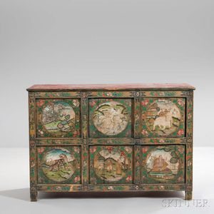 Paint-decorated Cabinet