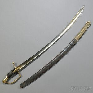 French Foot Officer's Sword