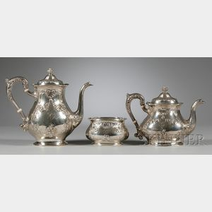 Gorham Three-Piece Sterling Silver Tea and Coffee Service