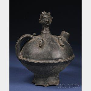 Akan Ceramic Vessel