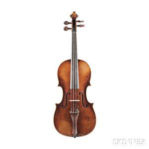 Austrian Violin, Attributed to Johann Georg Thir